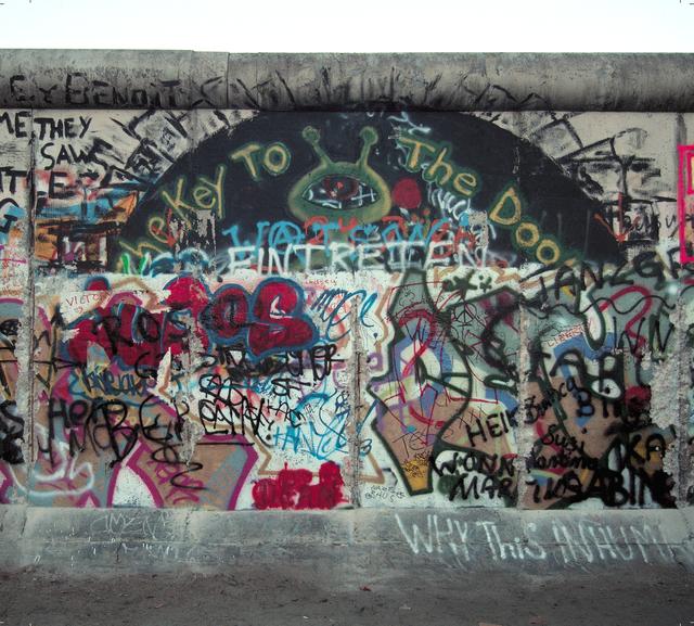 Michel Hosszu, 'MUR DE BERLIN – 14', 1990, Poulpik Gallery