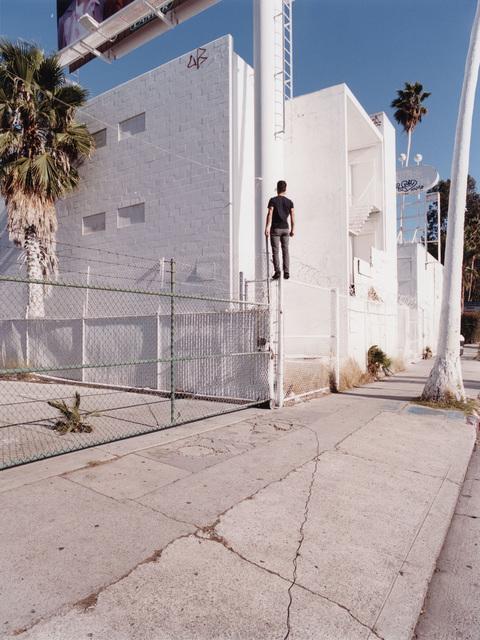 Sebastian Stumpf, 'Fences #23', 2017, Photography, C-print, analogue photography, Galerie Kleindienst
