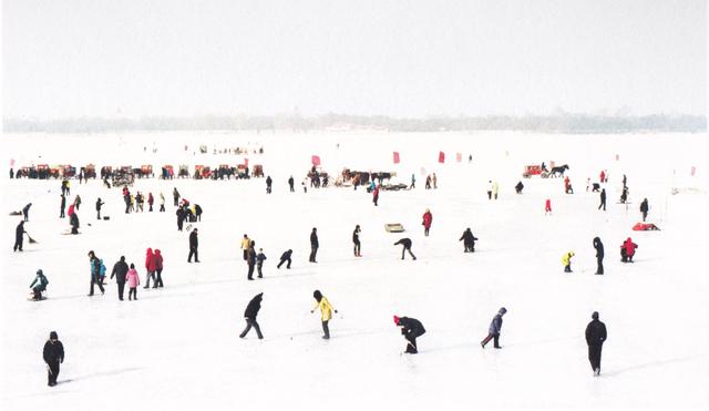 , 'Les patineurs,' 2012-2013, galerie SIT DOWN