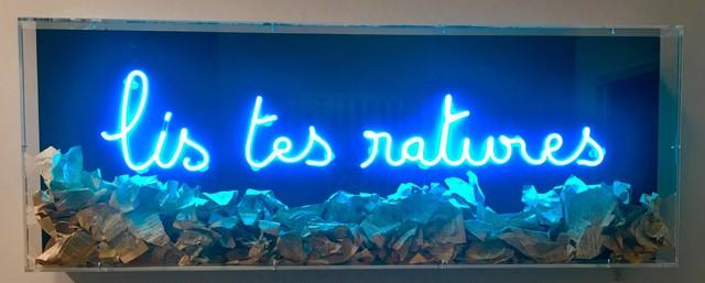 Fabien Chalon, 'Lis tes ratures', 2018, Galerie Olivier Waltman | Waltman Ortega Fine Art