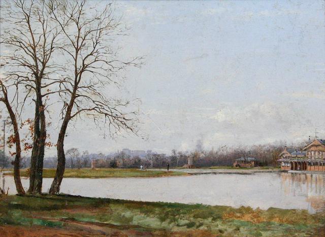 , 'Bois-de-Boulogne,' ca. 1875, Avery Galleries