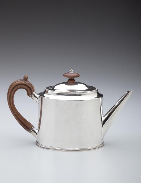 , 'Teapot; London, England,' 1781-1782, Newark Museum