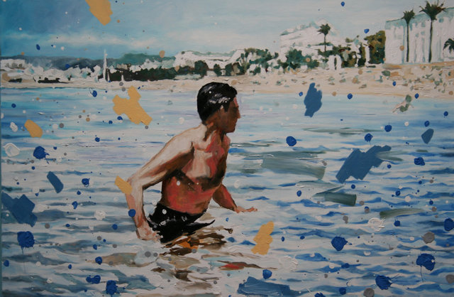 , 'To Catch a Thief: The Beach,' 2011-2014, Sloan Fine Art