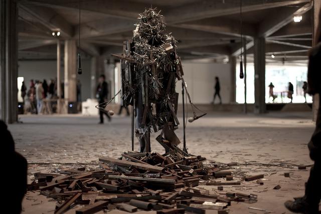, 'Vídeo still: series Noise Body,' 2010, El Museo del Barrio