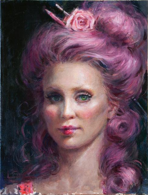 , 'Self Portrait Makeup,' 2018, Abend Gallery