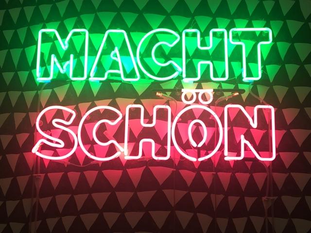 , 'MACHT SCHON/SCHÖN,' 2017, Galerie Krinzinger