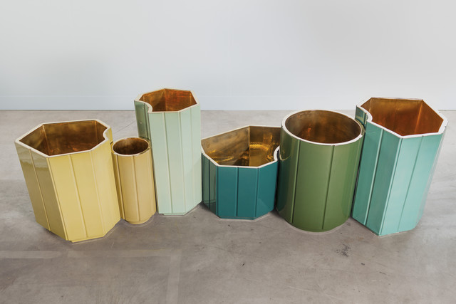 , 'Landscapes Vases series 1 (S1) FULL SET OF 6 in limited edition of 6 colours - yellow, canard blue, celadon, forest green, celadon, turquoise.  individual prices on the next page, total series price,' 2013, Carwan Gallery