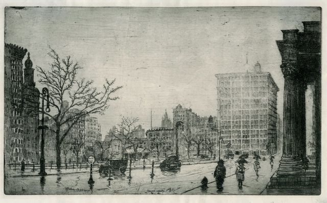 , 'Union Square, NY,' 1923, Childs Gallery