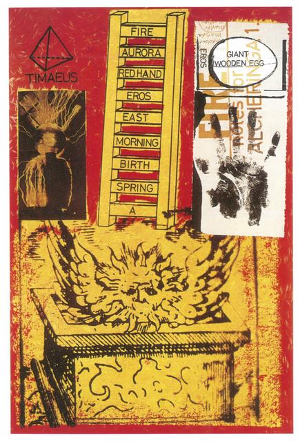 Joe Tilson, 'Alcheringa 1, Fire', 1971, Marlborough Graphics