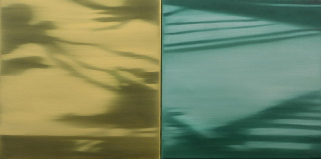 , 'Shadows and Reflections VII (diptych),' 2015, Andra Norris Gallery