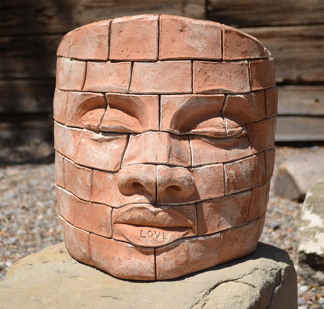 , 'Brick face LOVE 2 ,' , Nüart Gallery