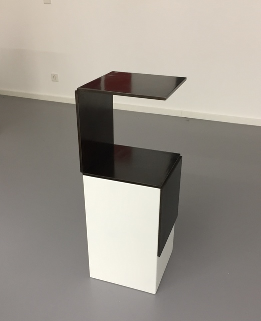 Stephan Siebers, 'OPEN CUBE', 2013, Sculpture, Solid steel with patina, Galerie Floss & Schultz