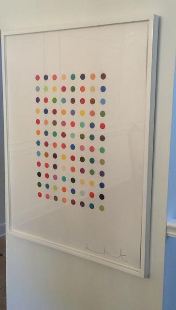 Damien Hirst, 'Xylene Cyanol Dye Solution', 2005, Print, Aquatint printed in colors on Hahnemühle wove paper, Fine Art Mia