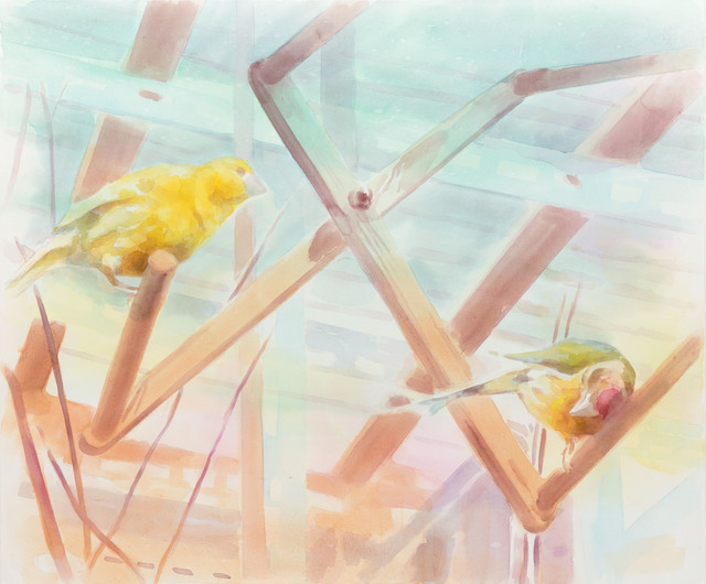 , 'Birds,' 2016, Galerie Kleindienst