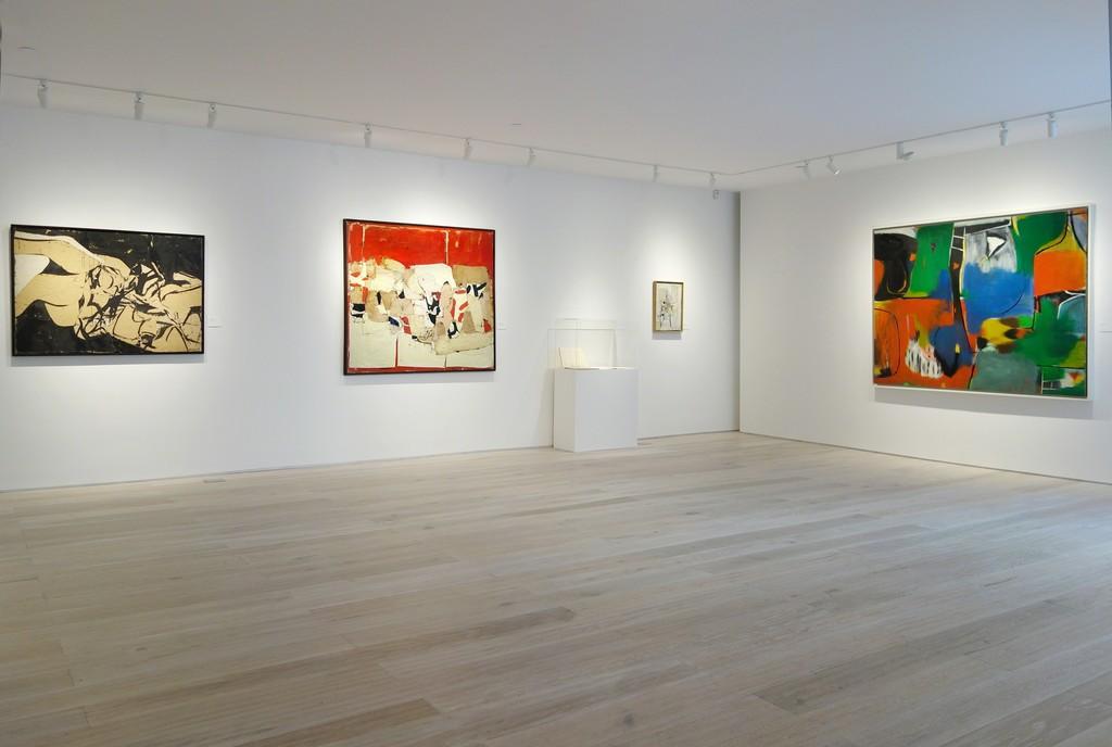 """Conrad Marca-Relli: Reconsidered"" - Installation view"