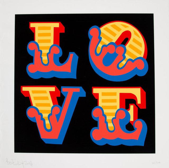 Ben Eine, 'Love', 2018, Heritage Auctions