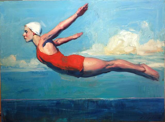 , 'Swan Dive ,' 2017, Nikola Rukaj Gallery