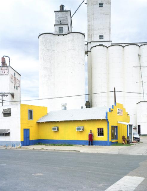 , 'North Texas: Grain elevators, Pastor Lopez, Michoacana restaurant,' 2010, PDNB Gallery