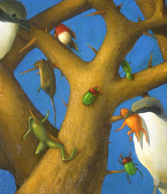 , 'The Shrike,' 2016, LeMieux Galleries
