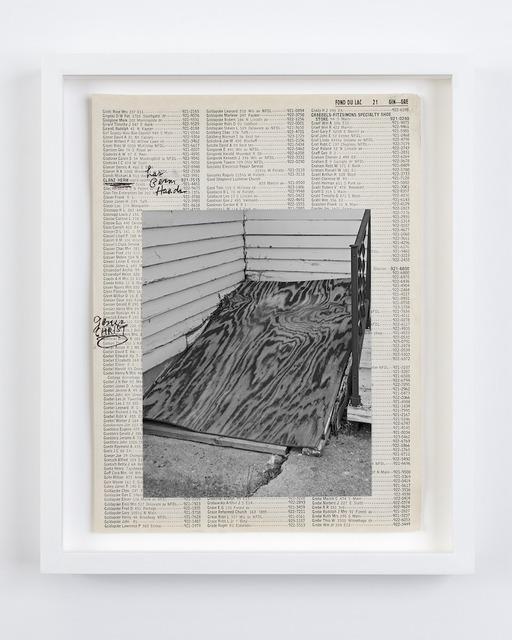 , 'Storm Cellar,' 2015, Robert Morat