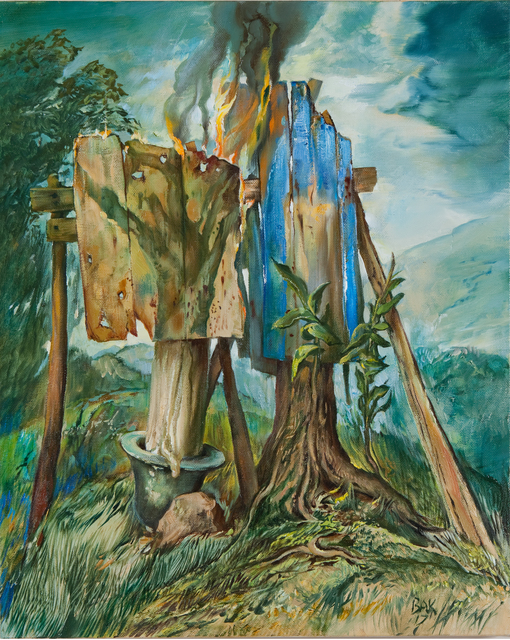 Samuel Bak, 'Be There, Be Light', 2017, Pucker Gallery