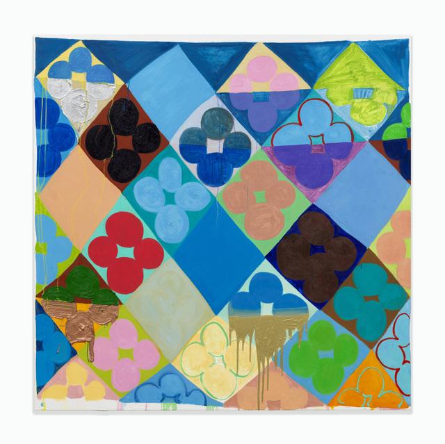 , 'Blaue Blume,' 2017, Häusler Contemporary