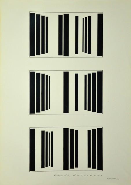 , 'Mutación #15, del 45:39, al 2:32, al 40:8,' 1981, Henrique Faria Fine Art