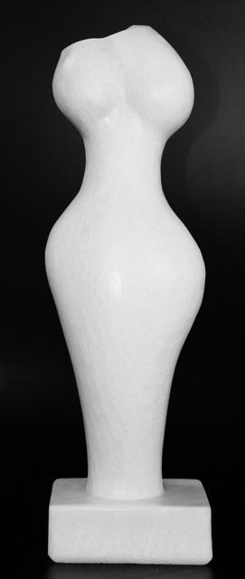 Evelyne Brader-Frank, 'Phaedra', 2018, Sculpture, White Marble, Galerie NuEdge