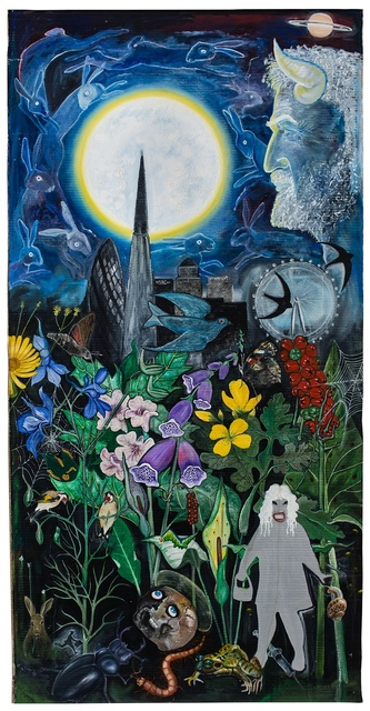 , 'The Flowers of Evil, The Congregation,' 2015, Victoria Miro