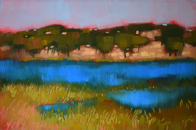 , 'Rockville Lake,' 2018, Qube Gallery