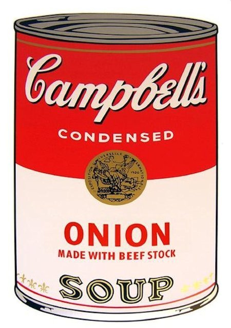 Andy Warhol, 'Campbells Soup Onion - Sunday B. Morning (After)', ARTEDIO