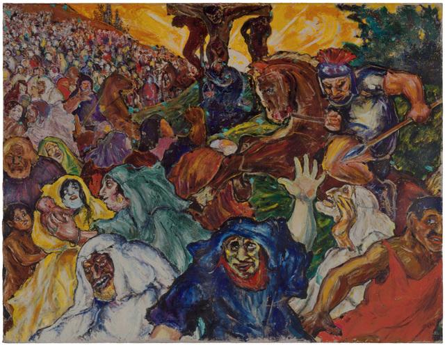 Fritz Ascher, 'Golgotha', 1915, Painting, Oil on canvas, Grey Art Gallery