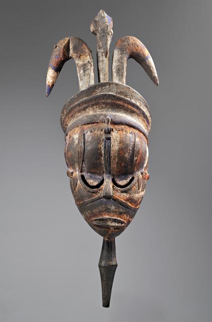 , 'Mask,' 1800-1810, Princeton University Art Museum