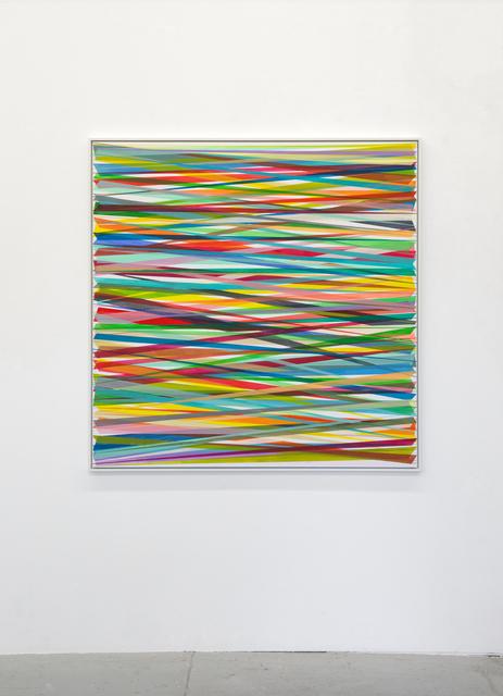 Beat Zoderer, 'Horizontales Zig-Zag No. 9', 2019, Bartha Contemporary