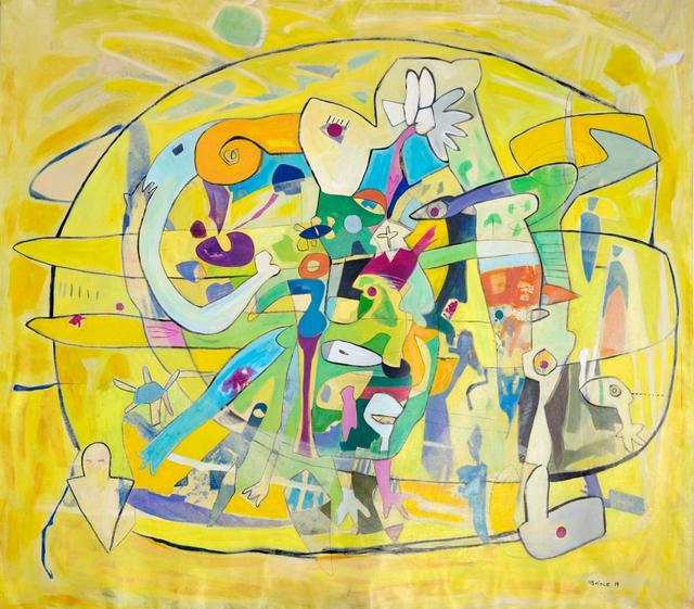 Isabel Brinck, 'Circle of Friends ', 2019, Fine Art Maya