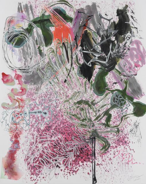 , '500 Brushstrokes #47 五百笔 #47,' 2018, Chambers Fine Art