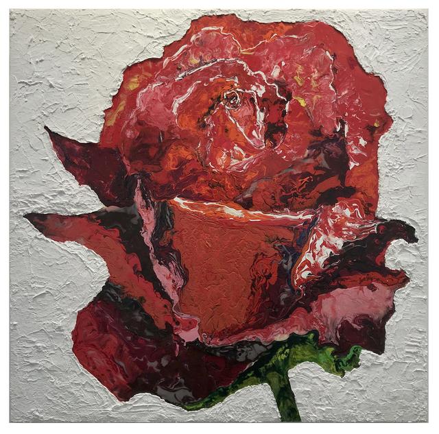 , 'Red Rose,' 2018, Coagula Curatorial
