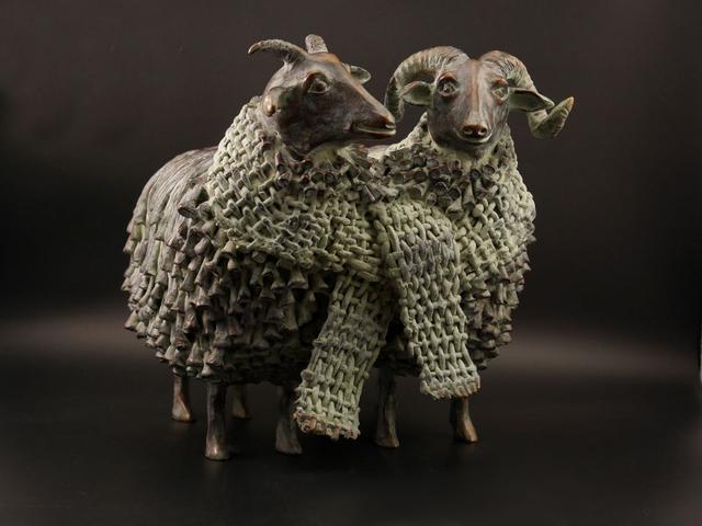 , 'Wollig Echtpaar (Fluffy Couple),' 2015, GrachtenGalerie