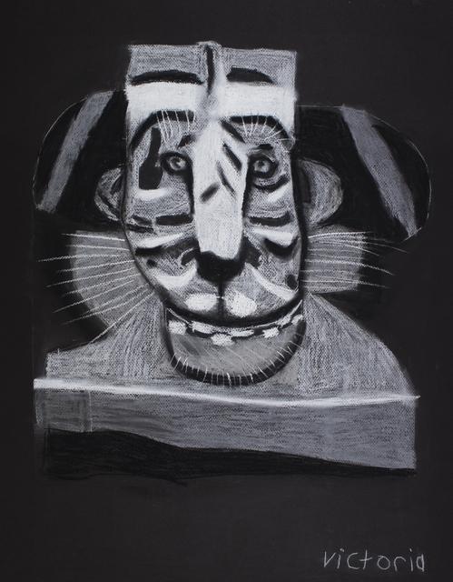 , 'Warrior King Tiger,' 2017, Studio A