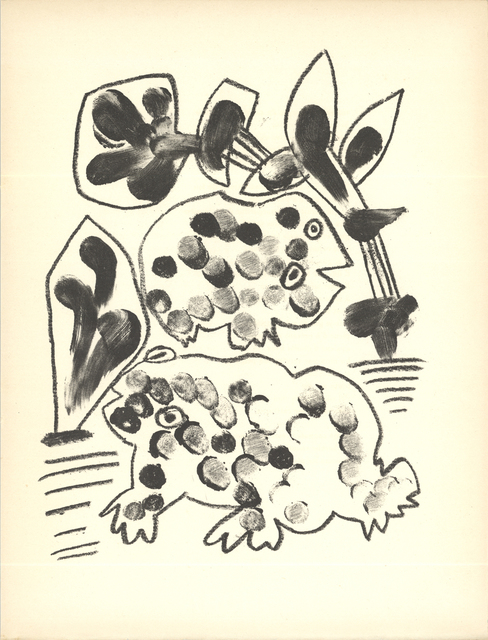 Pablo Picasso, 'De Memoire D'Homme VIII', 1950, ArtWise