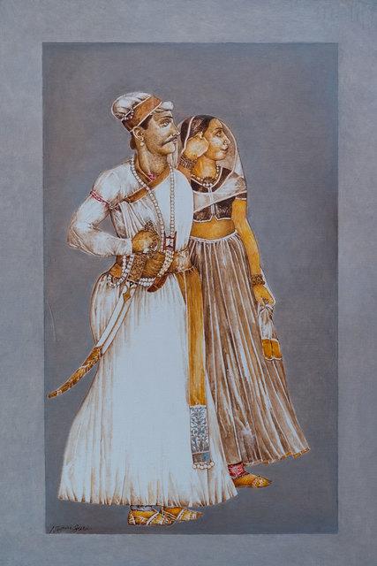 , 'Sawant Singh with Bani Thani ,' 2016, Albemarle Gallery   Pontone Gallery
