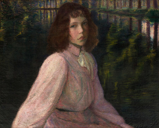 Lilla Cabot Perry, 'At the River's Head, River Epte, Giverny, France', 1895, Vose Galleries