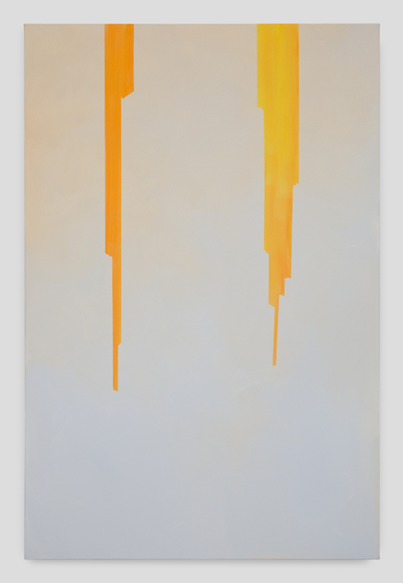 , 'In Absentia (Misty Blue-Translucent Orange Yellow),,' 2017, Night Gallery