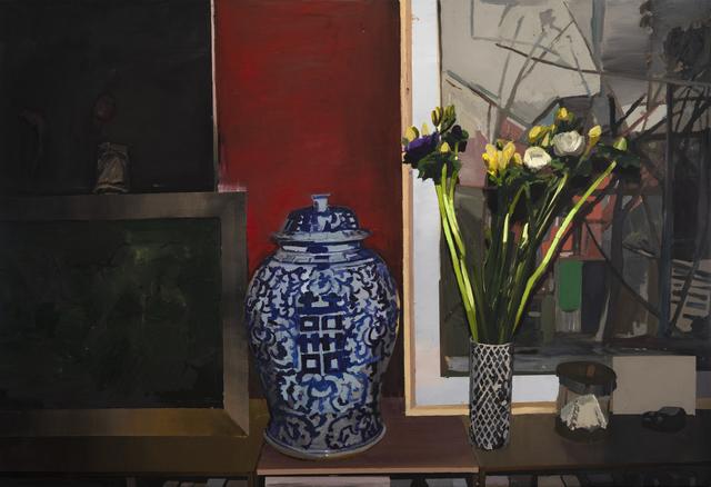 , 'Flower Angles III,' 2018, Hans Alf Gallery