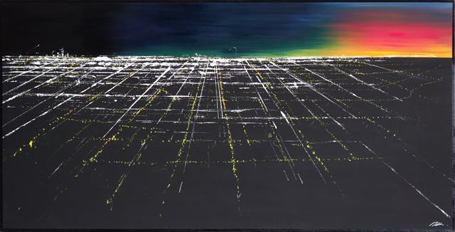 Pete Kasprzak, 'Griffith Sunset Aerial II', 2019, Artspace Warehouse
