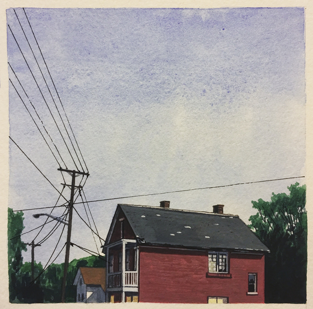 , 'Connected - Cleveland - E. 76th Street,' 2016, The Bonfoey Gallery