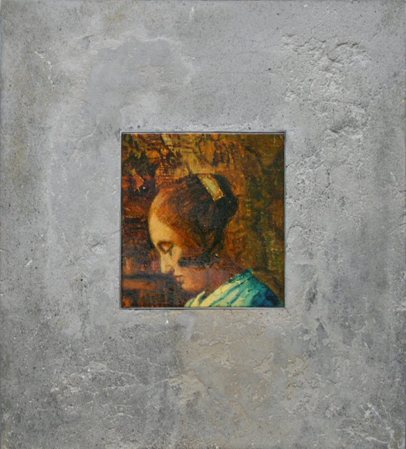 , 'Figure Fragment in Stone, to Vermeer,' 2001, Galerie de Bellefeuille