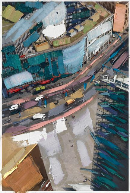 , 'Folge den Markierungen,' 2018, Galerie Krinzinger
