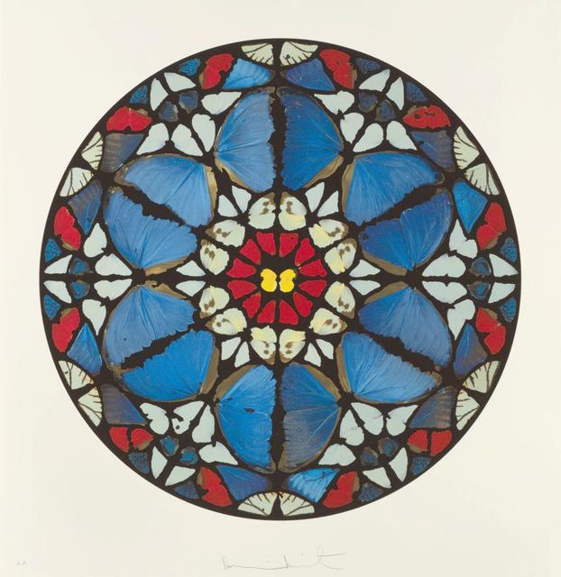 Damien Hirst, 'Verba Mea Auribus', 2009, Print, Silkscreen print with diamond dust, Almine Rech