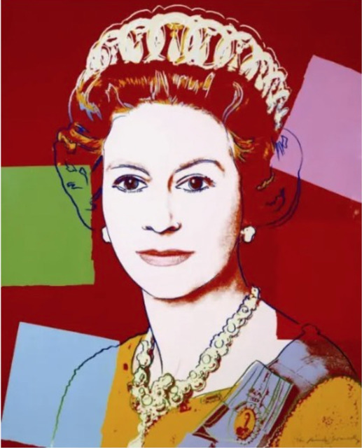 Andy Warhol, 'Queen Elizabeth II F.S. II 334', 1985, Print, Screen print, Lush Art Agency